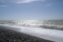 unterwegs am Meer