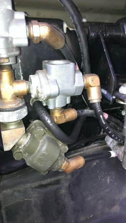 Schlauch Kupplungsgeberzylinder T244