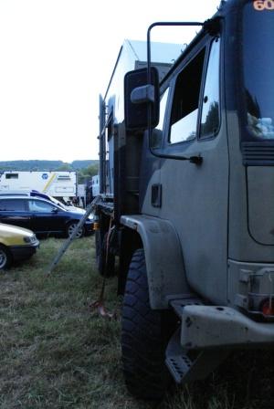 DAF Leyland auf dem Campground Abenteuer & Allrad