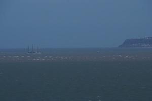 Windjammer vor Le Havre
