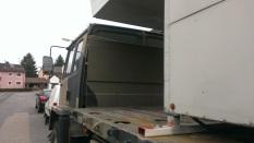 Arbeiten Stauraum Leyland DAF T244