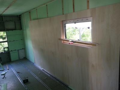 Dämmung Shelter Leyland DAF