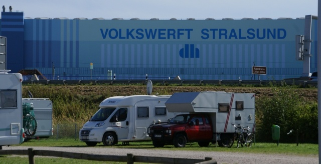 Stellplatz Stralsund
