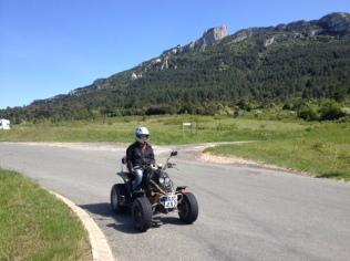 Quad in Andorra