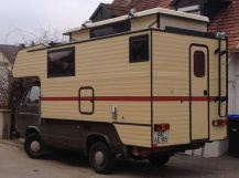 Wohnkabine für Leyland DAF