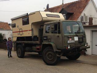 T244 mit Tischer Kabine