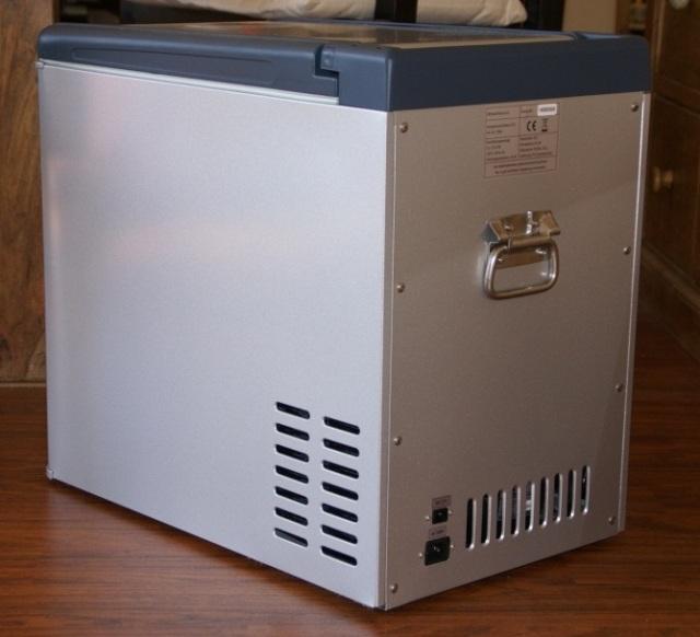 Kühlbox rechte Seite
