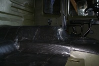 Leyland DAF T244 Dämmung Fahrerhaus