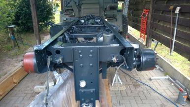 T244 Rahmen lackiert