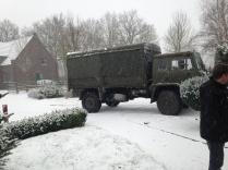 T244 im Schnee